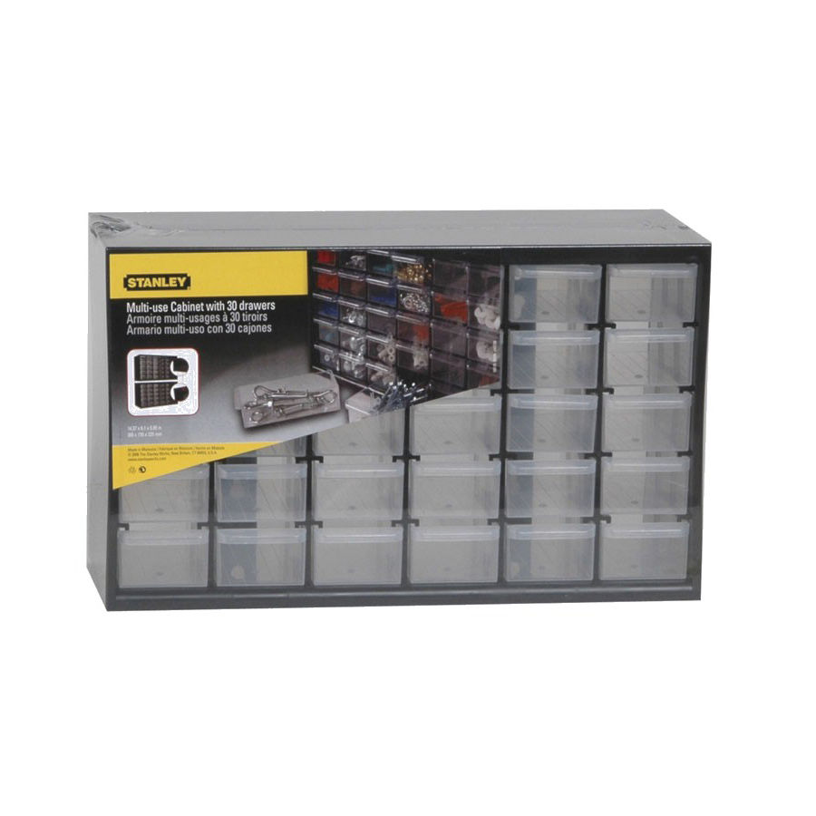 Stanley 1-93-980 Storage Box With 30 Compartments  sc 1 st  Tools Integrator & Stanley 1-93-980 Storage Box With 30 Compartments - Tools Integrator